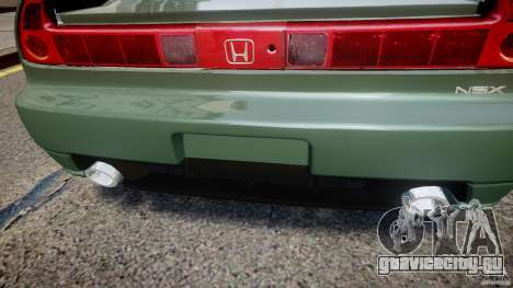 Honda NSX NA2 [Beta] для GTA 4 салон