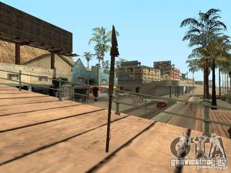 Копье для GTA San Andreas