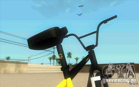 17.5 BMX для GTA San Andreas вид сзади