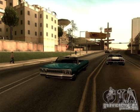 ENBSeries by Sashka911 v3 для GTA San Andreas пятый скриншот