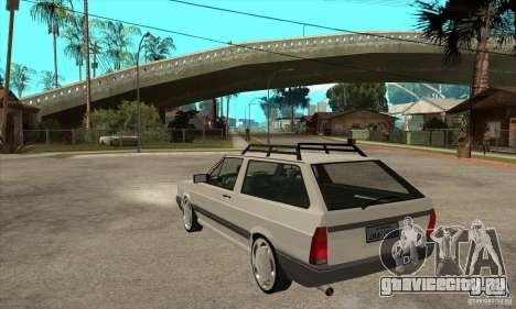 Volkswagen Parati GLS 1994 для GTA San Andreas вид сзади слева