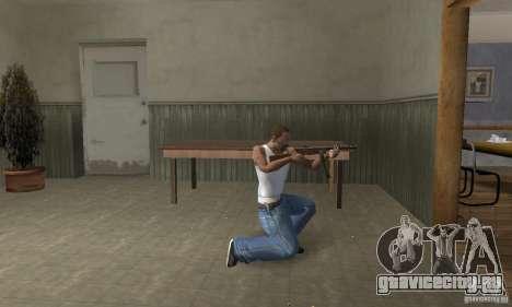 ППШ-41 с секторным магазином для GTA San Andreas второй скриншот