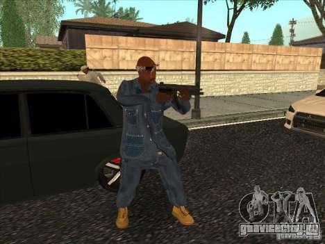2Pac v1 для GTA San Andreas третий скриншот