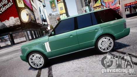 Range Rover Vogue для GTA 4 вид слева