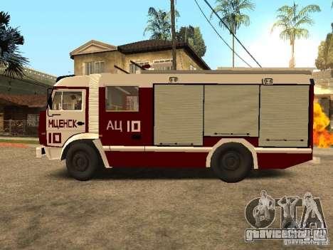 КамАЗ 43253 Розенбауер для GTA San Andreas вид слева