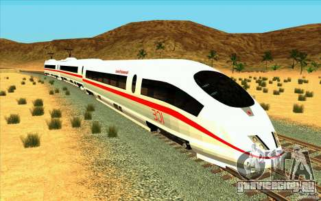 ICE3 Train для GTA San Andreas