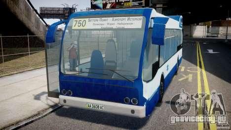 DAF Berkhof City Bus Amsterdam для GTA 4