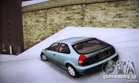 Honda Civic EK9 для GTA San Andreas вид слева