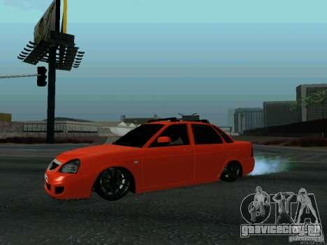 ВАЗ 2170 102-RUS для GTA San Andreas вид слева