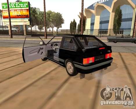 ВАЗ 2113 для GTA San Andreas вид изнутри