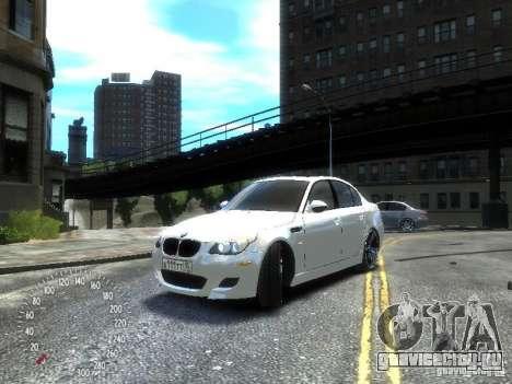 BMW M5 E60 для GTA 4 вид слева
