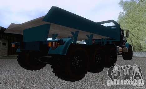 КрАЗ 7140H6 Триал для GTA San Andreas вид справа