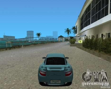 Porsche 911 GT2 для GTA Vice City вид сзади слева