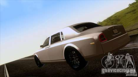 Rolls Royce Phantom Hamann для GTA San Andreas вид сбоку