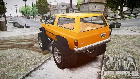 MonsterTruck для GTA 4 вид сзади слева