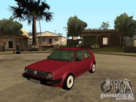 Volkswagen Golf MKII 5dr для GTA San Andreas