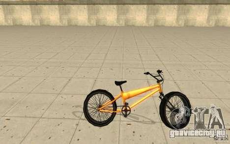 BMX Long Big Wheel Version для GTA San Andreas вид слева
