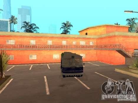 Икарус 620 для GTA San Andreas вид сзади слева