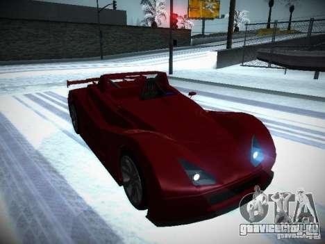 Lada Revolution для GTA San Andreas вид сзади