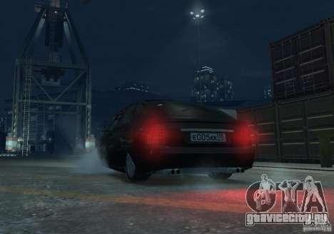 Лада Приора хетчбэк для GTA 4 вид изнутри