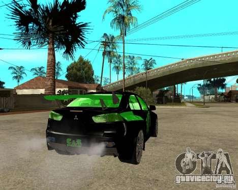 Mitsubishi Lancer Evolution X E&R Prod для GTA San Andreas