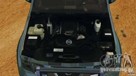 Nissan Frontier DUB v2.0 для GTA 4 вид изнутри