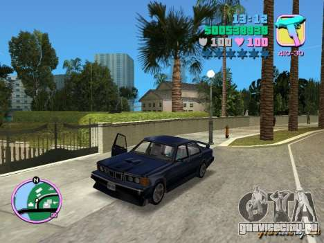 BMW 635 CSi для GTA Vice City
