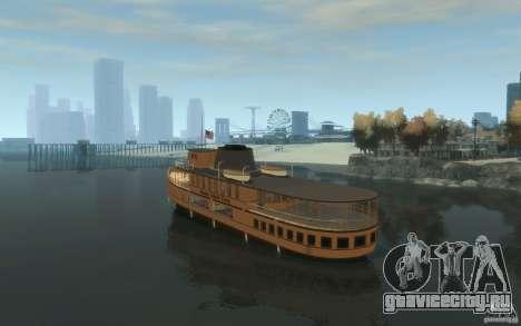 Staten Island Ferry для GTA 4 вид сзади слева