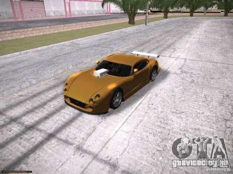 TVR Cerbera Speed 12 для GTA San Andreas вид сбоку