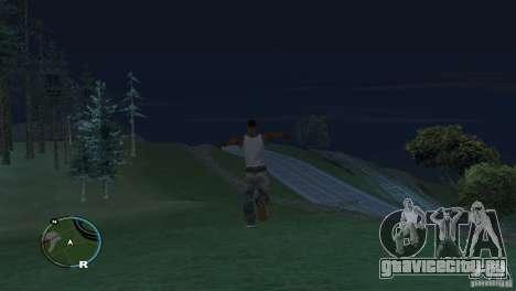 GTA IV HUD для широких экранов (16:9) для GTA San Andreas четвёртый скриншот