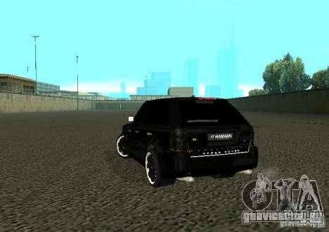 Land Rover Range Rover Sport Hamann для GTA San Andreas вид сзади слева