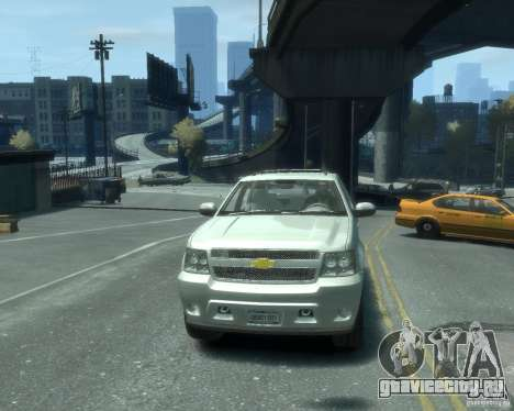 Chevrolet Avalanche Version Pack 1.0 для GTA 4 вид сзади