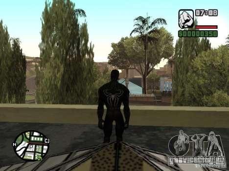 Человек паук враг в отражении для GTA San Andreas пятый скриншот