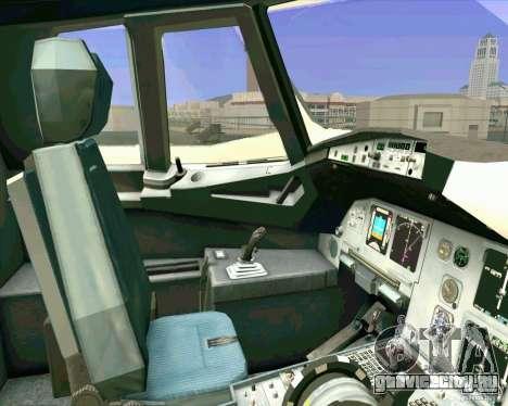 Airbus A-320 авиакомпании UTair для GTA San Andreas вид сбоку