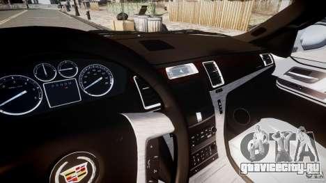 Cadillac Escalade ESV для GTA 4 вид сбоку