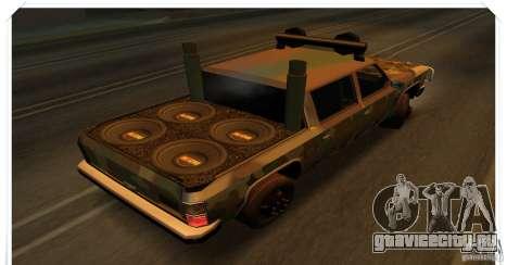 New Rancher для GTA San Andreas вид справа