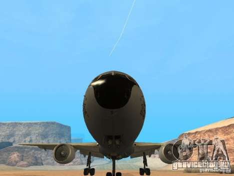 Boeing KC767 U.S Air Force для GTA San Andreas вид сзади