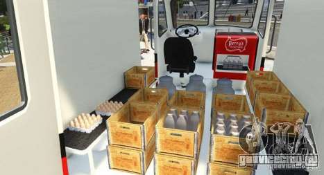Ford Divco Milk and Icecream Van 1955-56 для GTA 4 вид сзади слева