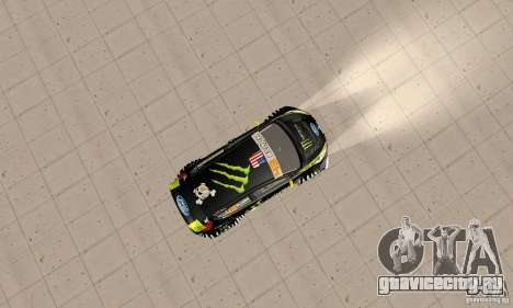 Ford Fiesta 2011 Ken Blocks для GTA San Andreas