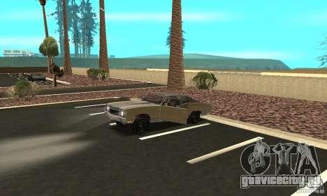 Chevy Monte Carlo [F&F3] для GTA San Andreas вид сверху