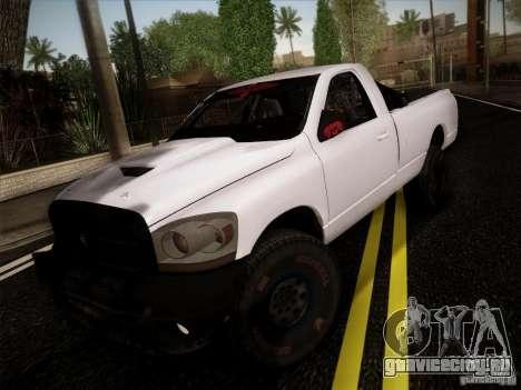 Dodge Ram 1500 4x4 для GTA San Andreas