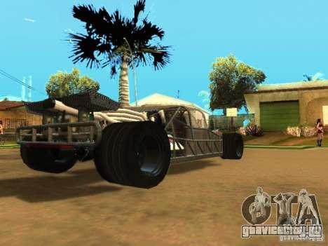 Fast & Furious 6 Flipper Car для GTA San Andreas вид сверху