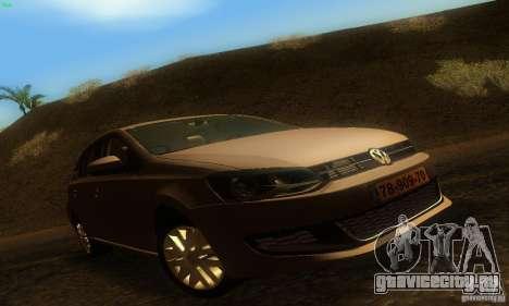 Volkswagen Polo 1.2 TSI для GTA San Andreas
