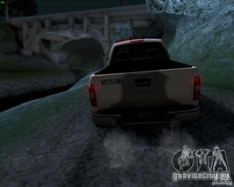 Chevrolet Silverado Police для GTA San Andreas вид сбоку