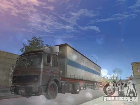 МАЗ 5551 Колхоз для GTA San Andreas вид сбоку