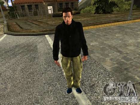 Claude HD Remake (Beta) для GTA San Andreas второй скриншот