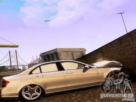 Mercedes-Benz C36 AMG для GTA San Andreas вид справа