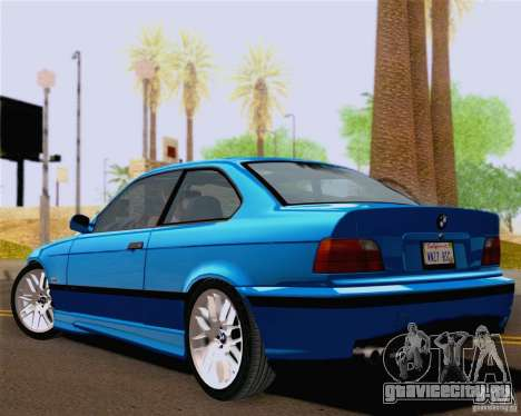 BMW M3 E36 New Wheels для GTA San Andreas вид справа
