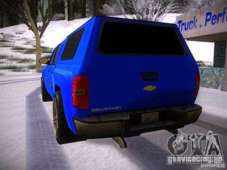 Chevrolet Silverado для GTA San Andreas вид слева
