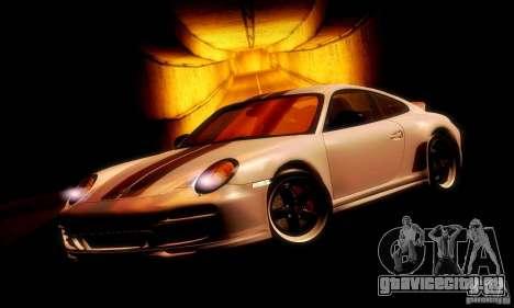 Porsche 911 Sport Classic для GTA San Andreas вид слева